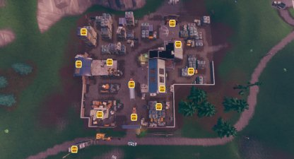 All Chests In Junk Junction