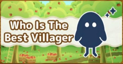 Villager Tier List