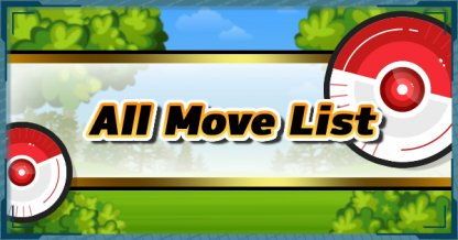 All Move List