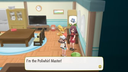Poliwhirl Master Trainer