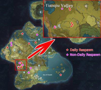 Geovishap Hatchlings Locations