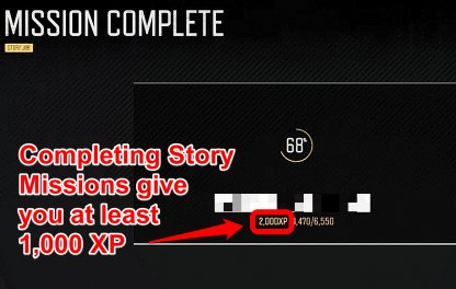 Complete Story Missions