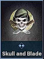 Skull and Blade emblem