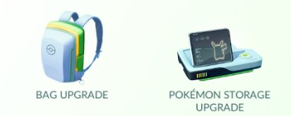 Pokemon GO Shop Item List