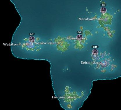 Fatui Skirmisher Inazuma Location