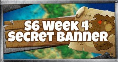Season 6 Week 4 Secret Banner Location