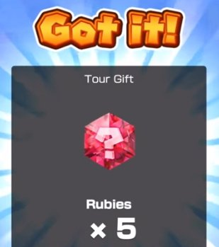 tour gifts awards