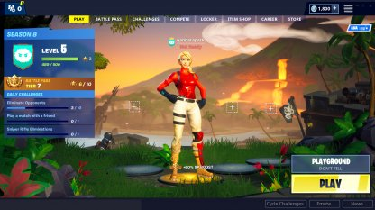 Fortnite | Menu Functions & Lobby Screen Guide