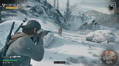Use Crossbow To Instantly Kill Wolves