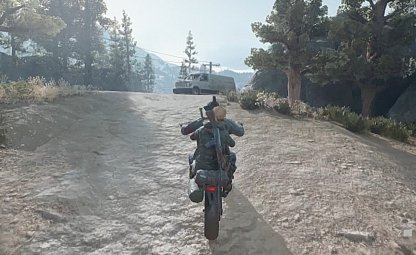 Simple Motorcycle Ride Mission
