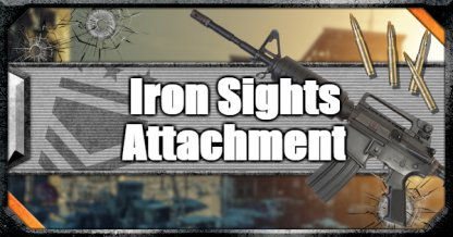 Call of Duty Black Ops IV Weapon Attachments Iron Sights