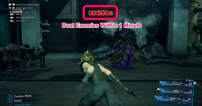 Stop The Ventilation & Complete Timed Battle Sequence To Get