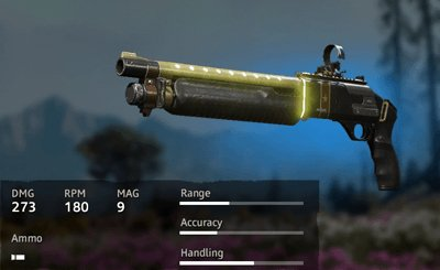 Far Cry New Dawn Makeshift Retro Sci-Fi M133 M