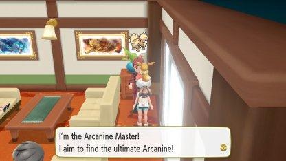 Arcanine Master Trainer