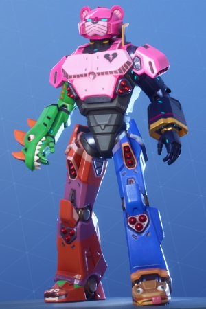 Skin Outfit MECHA TEAM LEADER