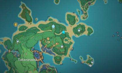 Chouji Location Day 2 map