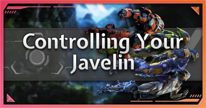 Javelin Controls For PC, PS4 & Xbox One