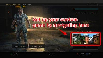 CoD:BO4 Custom Game