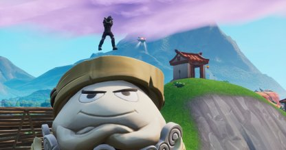 Dance On Top Of A Giant Dumpling Head