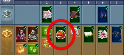 Tomatohead emoticon at Tier 3
