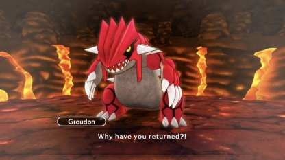 Groudon In Magma Cavern