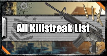 All Killstreaks