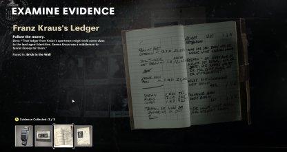 3 Evidences