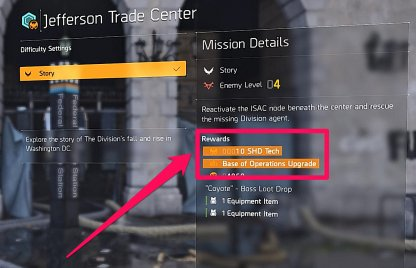 Check Rewards Of Available Missions