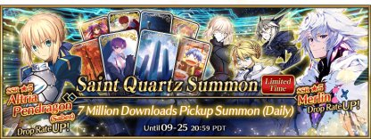 7 Million Downloads Pickup Summon