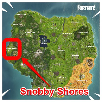 Fortnite Search a Chest in Snobby Shores