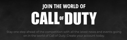 Call of Duty Account Required