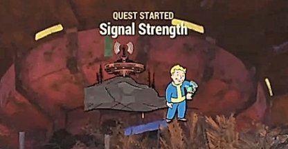 Fallout 76, The Mission Link - Quest Walkthrough, Signal Strength