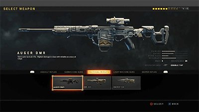 Cod Bo4 Tactical Rifle Weapon List Stats Call Of Duty