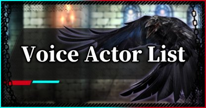 Devil May Cry 5 Character Voice Actor (VA) List
