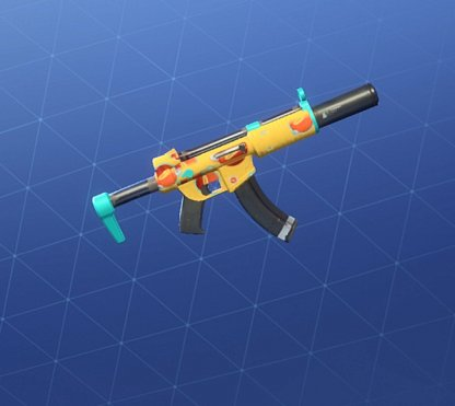 FISH FACE Wrap - Submachine Gun