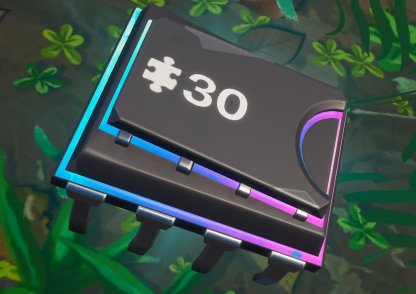 Fortbyte 30 Location - Between Haunted Hills & Pleasant Park