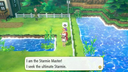 Starmie Master Trainer