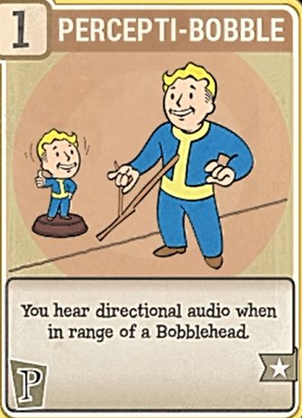 Fallout 76 Perk Cards Perception Percepti-Bobble