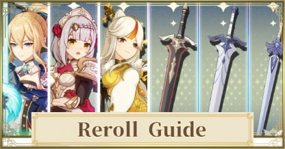 Reroll Tier List