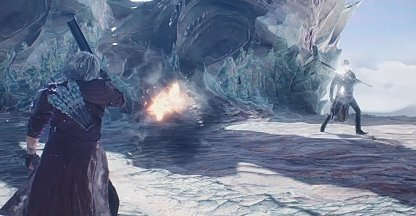 Gunshots will be Deflected by Vergil