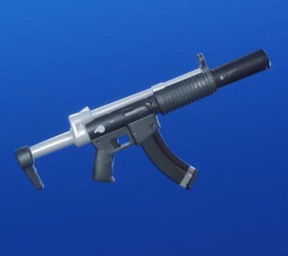 WEATHERED BLACK Wrap - Submachine Gun