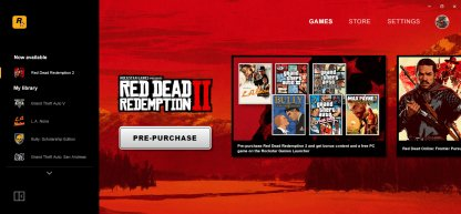 Launches on Rockstar Games Launcher