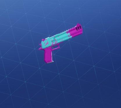 PINK SPLATTER Wrap - Handgun