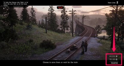 Red Dead Online The Right Side of the Tracks Walkthrough