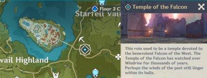 Temple Of The Falcon