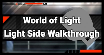 SSBU, World Of Light - Light Side Walkthrough