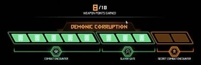 Demonic Corruption Rewards