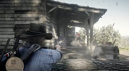 Red Dead Redemption 2 Camp Side Missions Rob a Homestead