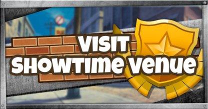 Visit the Showtime Venue - Showtime Challenge