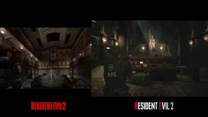 Resident Evil Original vs Remake Comparison